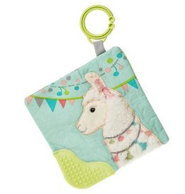 Mary Meyer Lily Llama Crinkle Teether