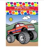 Do-A-Dot Do-A-Dot Mighty Trucks Coloring Book