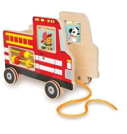 Fire Truck Pull Toy