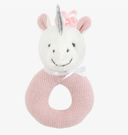 Elegant Baby Unicorn Rattle