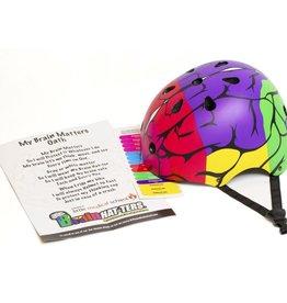 Little Medical School Brain Hat-Ter Helmet Small