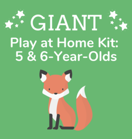Giant Play at Home Kit: 5 & 6-Year-Olds