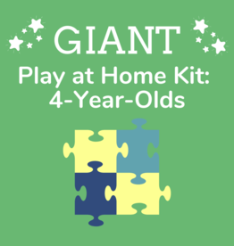 Giant Play at Home Kit: 4-Year-Olds