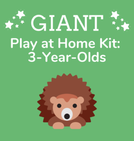 Giant Play at Home Kit: 3-Year-Olds