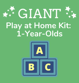 Giant Play at Home Kit: 1-Year-Olds