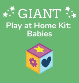Giant Play at Home Kit: Babies