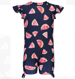 Snapper Rock Slice of Life Flutter Sleeve Sunsuit