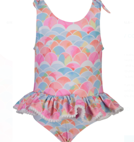 Snapper Rock Rainbow Connection Skirt Swimsuit