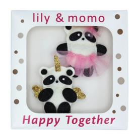 Lily & Momo Lily & Momo Panda Pals Clips
