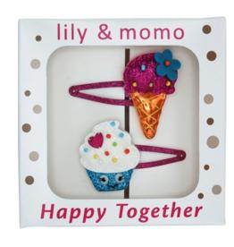 Lily & Momo Lily & Momo Tasty Treats Hair Clips