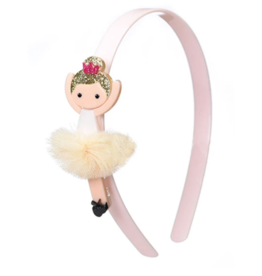 Lilies & Roses Lilies & Roses Ballerina Headband Beige