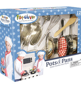 PopOhVer Pots and Pans Set