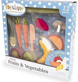PopOhVer Plush Fruits and Veggies