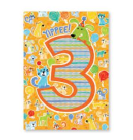 Peaceable Kingdom Foil Card- 3