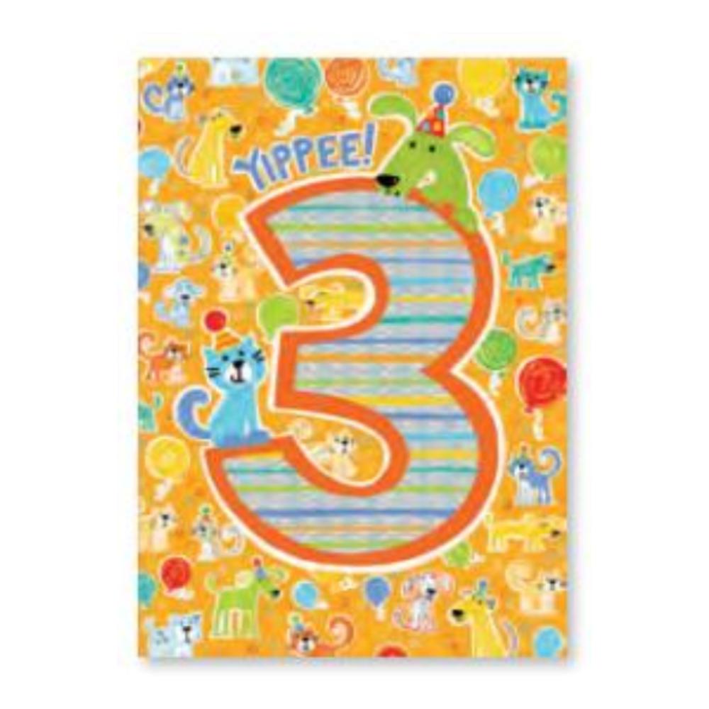Peaceable Kingdom Foil Card- 3