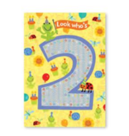 Peaceable Kingdom Foil Card- 2