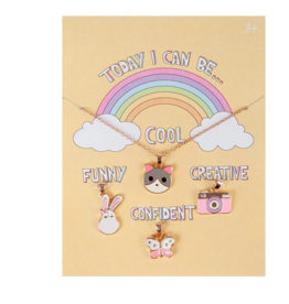 Creative Education of Canada Today I Can Be Cool, Funny, Creative, and Confident Necklace Set