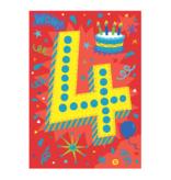 Peaceable Kingdom Foil Card- 4