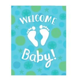 Peaceable Kingdom Enclosure Welcome Baby Boy