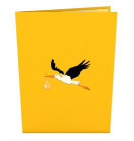 Lovepop Stork Yellow