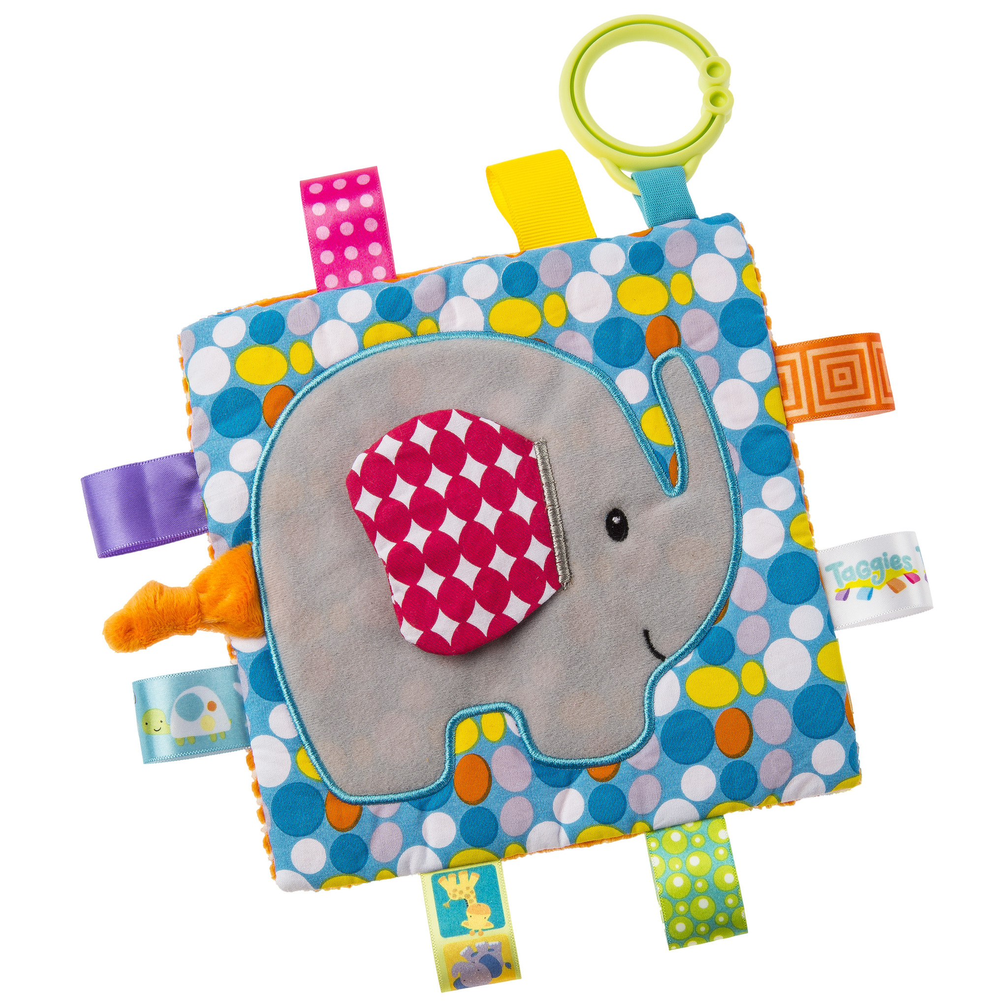 Mary Meyer Taggies Crinkle Elephant