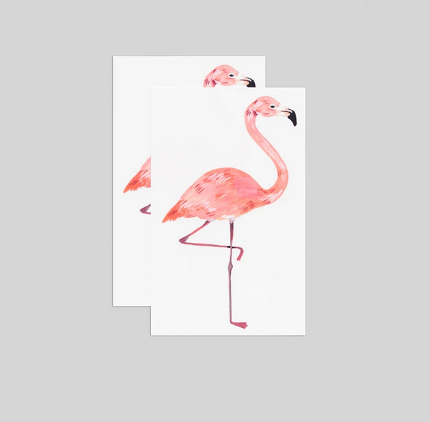 Tattly Tattly Flamingo