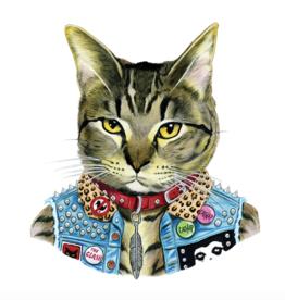 Tattly Tattly Punk Cat