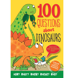 Peter Pauper 100 Questions About Dinosaurs