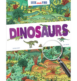 Peter Pauper Seek and Find Dinosaurs