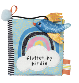 Manhattan Toy Soft Flutter by Birdie Book