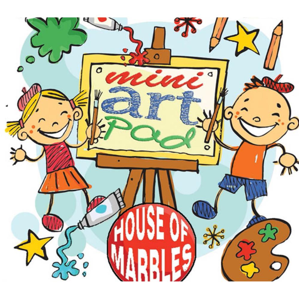 House of Marbles Mini Art Pad