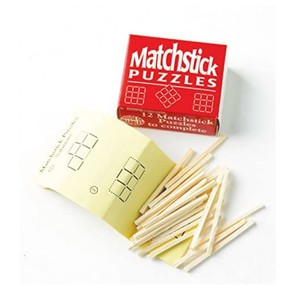 House of Marbles Matchstick Puzzles