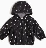 Miles Baby Black Play Block Rain Jacket