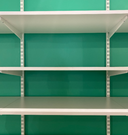 Container Store Elfa Shelving (white)