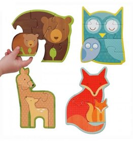 Petit Collage Beginner Puzzle- Forest Friends