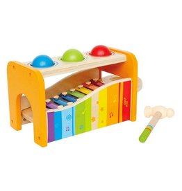 Hape Musical Pound and Tap Bench