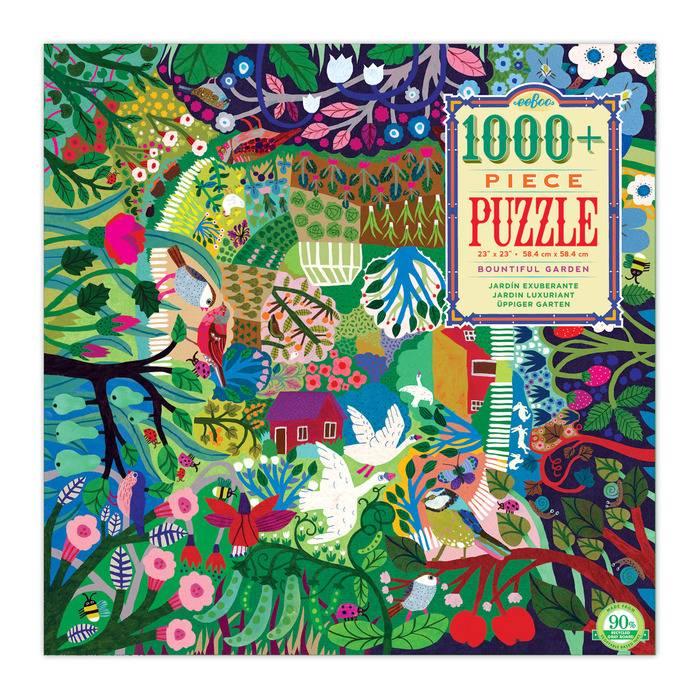 Bountiful Garden 1008 pc Puzzle