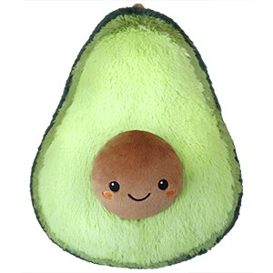 Squishable Avocado - Large