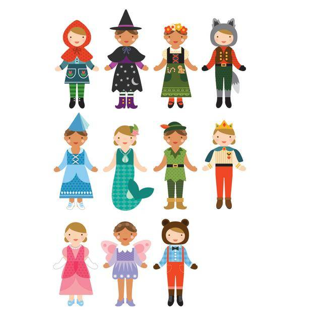 Magnetic Dress Up Fairy Tale