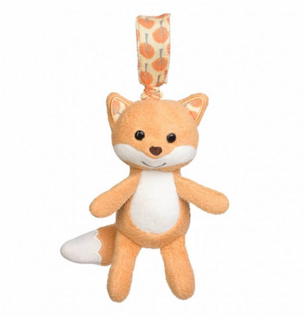 Organic Stroller Toy- Fox