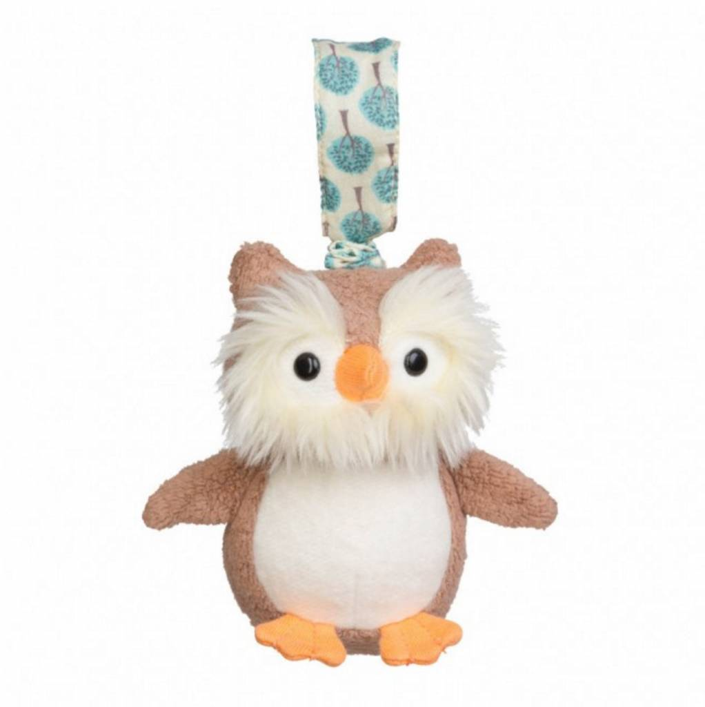 Apple Park Organic Stroller Toy- Owl