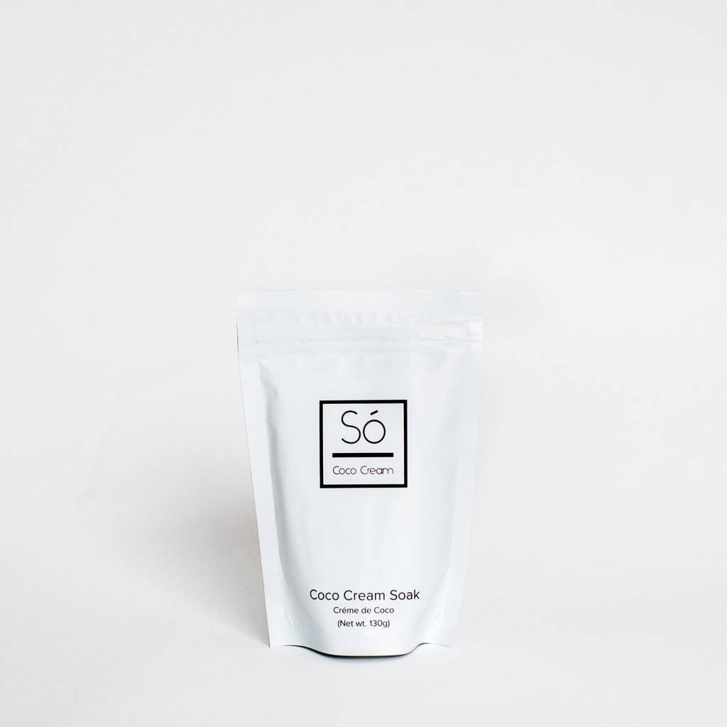 SO LUXURY COCO CREAM BATH BAG SM