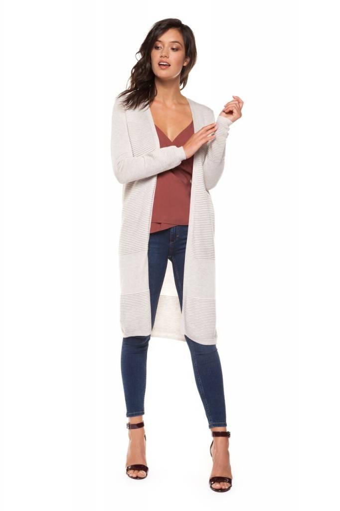 DEX CLOTHING L/S KNIT CARDI 1227250