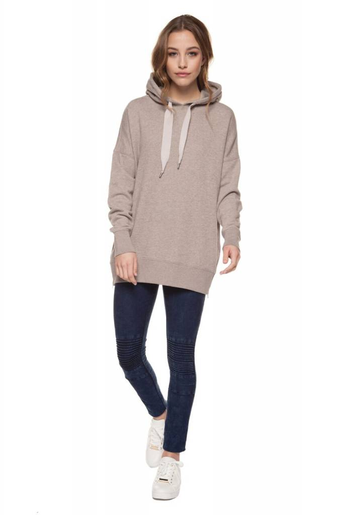 DEX CLOTHING L/S HOODED SWEATSHIRT 1224133