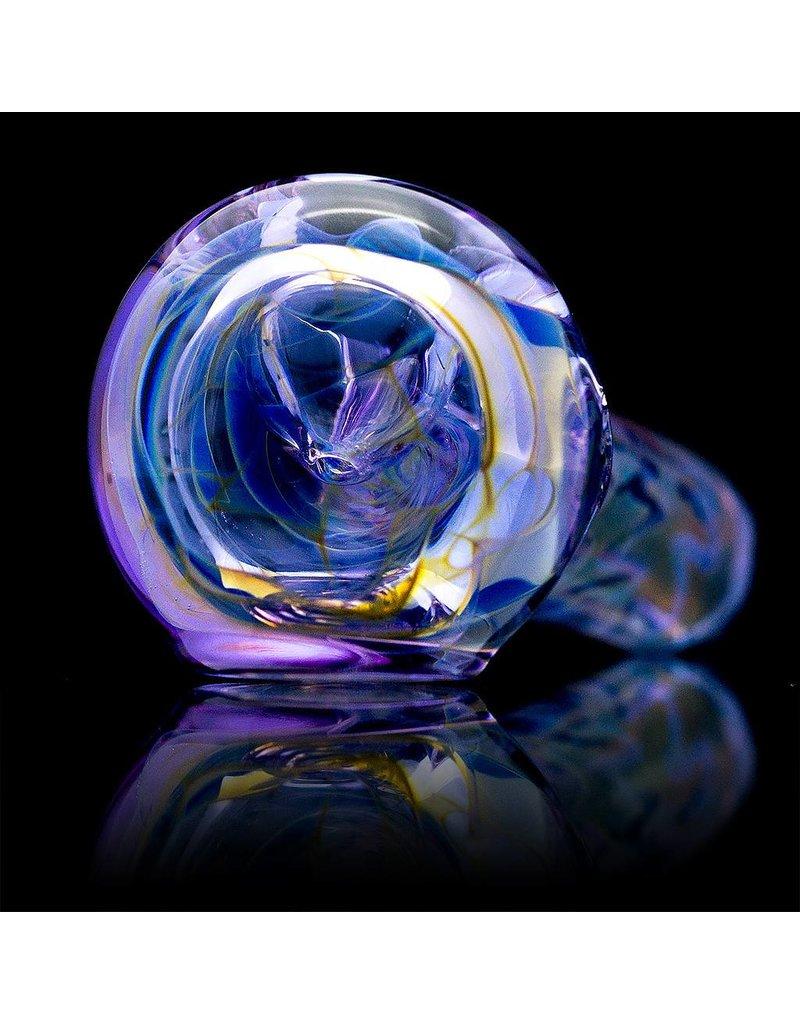 Multiverse Multiverse Inside Out CFL Purple Glass Spoon Pipe (A)