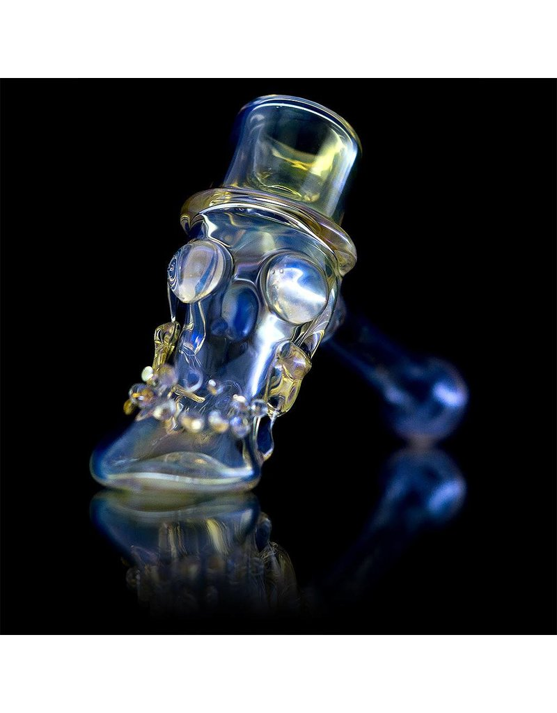 Bob Snodgrass Bob Snodgrass Top Hat Glass Hammer Dry Pipe 12
