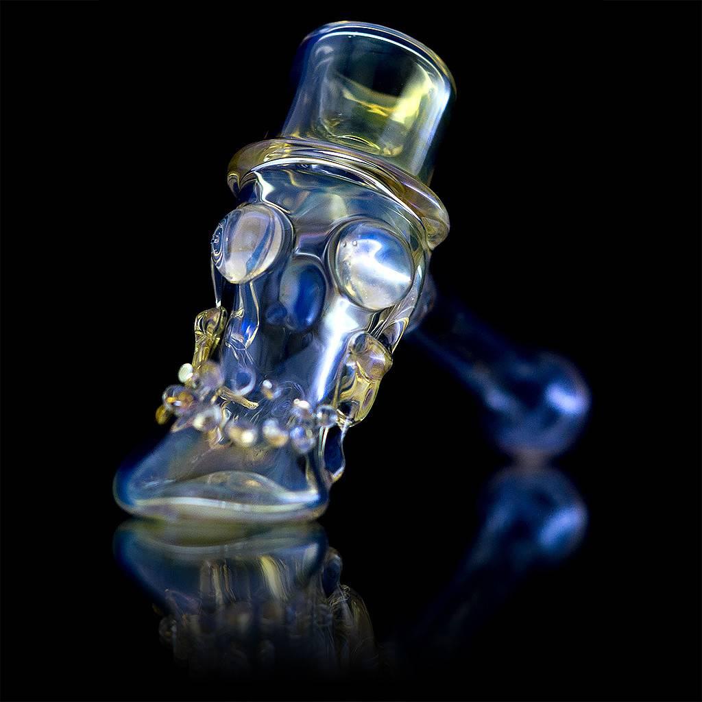 Bob Snodgrass Bob Snodgrass Top Hat Glass Hammer Dry Pipe 12