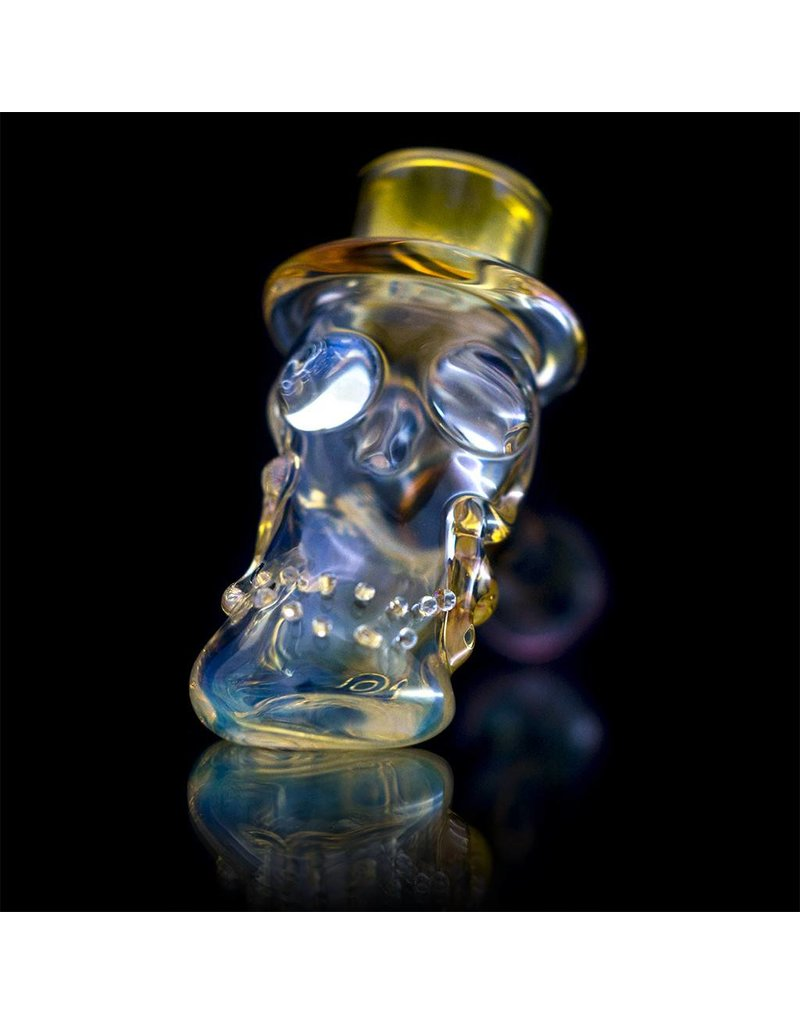 Bob Snodgrass Bob Snodgrass Top Hat Glass Hammer Dry Pipe 17