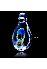 Bob Snodgrass Bob Snodgrass Fume Glass Pendant with UV Accents 1