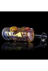 Bob Snodgrass Bob Snodgrass Music Note Glass Hammer Dry PIpe